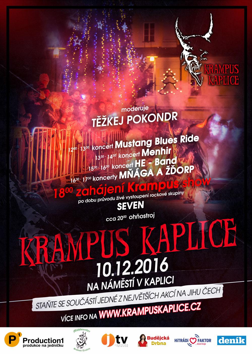 Plakát Krampus 2016